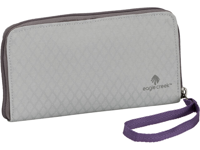 Eagle Creek RFID Wristlet Wallet graphite/amethyst